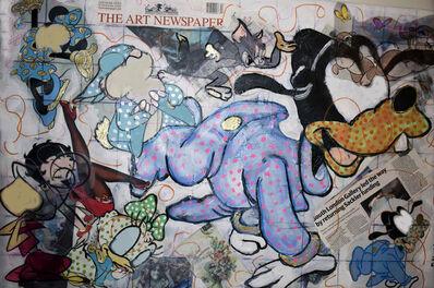 Gilda Oliver, 'Baby Goofy Loves The Art Newspaper', 2014