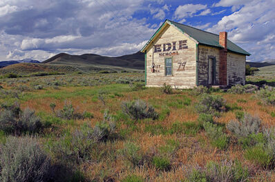 Larry Garmezy, 'Edie School - Landscape Photography, Pioneer one-room school along Idaho Montana border along the Bannack trail', 2017