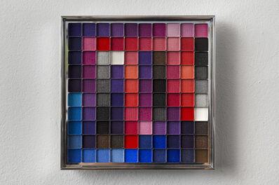 Rachel Lachowicz, 'Untitled (Color Computation: Blue, Purple, Grey, Red)', 2012