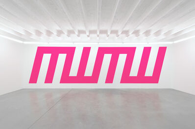 Jan van der Ploeg, 'Wall Painting No.374 - MWMW', 2013