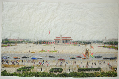 Nasan Tur, 'Places of Resistance, Tienanmen Square', 2019