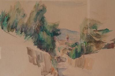 Abram Adolphe Milich, 'Mountain Landscape'