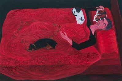 Sarah McEneaney, 'Sleep Fall 2016', 2017