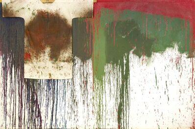 Hermann Nitsch, 'Schüttbild mit Hemd', 1989
