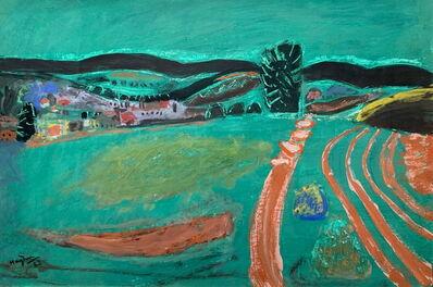 Henri Hayden, 'Vue sur la Ferte sous Jouarre', 1963