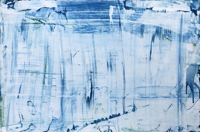 Andre Van der Wende, 'Blue Horizontal', 2018