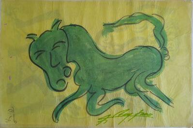 """Jesus """"Chucho"""" Reyes Ferreira, 'Green Horse', 1970-1979"""