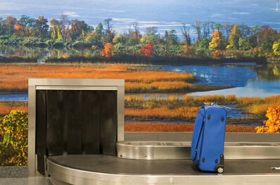 Mark Lyon, 'Stewart Airport, Baggage Claim A', 2008