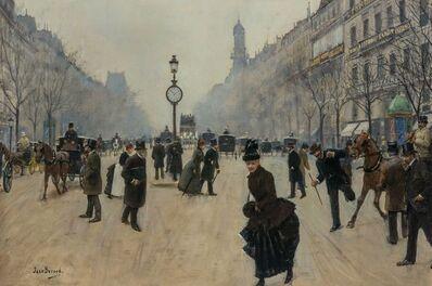 Jean Béraud, 'Carrefour Drouot (Drouot Crossroads)', circa 1887