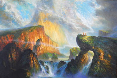 Bob Eggleton, 'Up the Bright River', 2010
