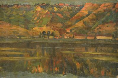Vasily Leontevich Martynov, 'Riverside', 1914