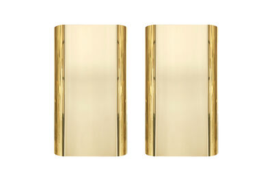 Steve Chase, 'Pair of 1970s Brass Sconces by Steve Chase ', ca. 1970