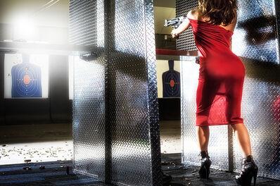 David Drebin, 'Red Target', 2014