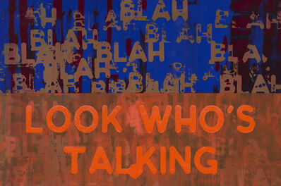Mel Bochner, 'Blah, Blah, Blah / Look Who's Talking ', 2019