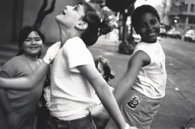 Asako Shimazaki, 'Dancing Girls, Tenderloin, San Francisco', 1989
