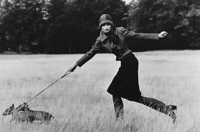 Arthur Elgort, 'Appollonia with Dogs, London, British Vogue', 1971