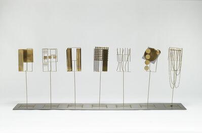 Fausto Melotti, 'TEMA III E VARIAZIONI', 1969-1972