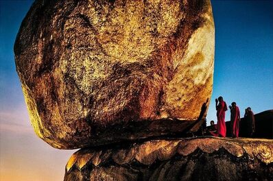 Steve McCurry, 'The Golden Rock beneath Kyaiktiyo Pagoda, Kyaiktiyo, Myanmar (1994)', 2020