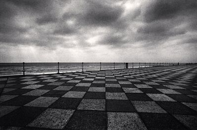 Michael Kenna, 'Seafront Hastings, Sussex, England', 1982