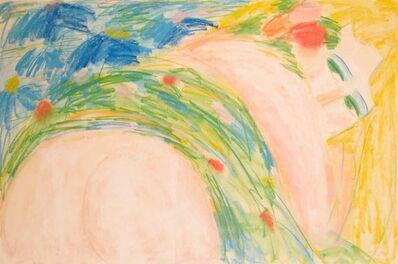 Walasse Ting 丁雄泉, 'Nude', ca. 1988