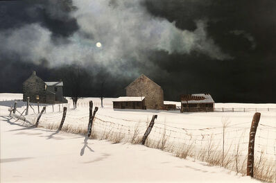 Peter Sculthorpe, 'Storm Break at Midnight', 2017