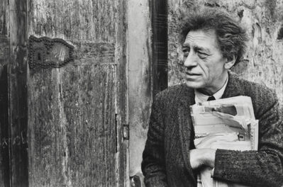 Henri Cartier-Bresson, 'Portrait of Alberto Giacometti, 1961', printed later