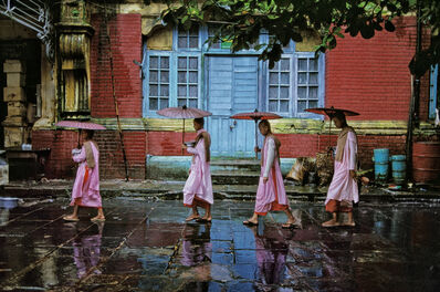 Steve McCurry, 'Procession of Nuns, Rangoon, Burma', 1994