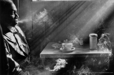 Harold Feinstein, 'Man Smoking In Diner', 1950