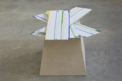 Arancha Goyeneche, 'Painting with pedestal #4', 2019