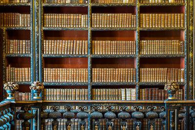 Reinhard Gorner, 'Wooden Flowers, Biblioteca Joanina, Portugal', 2015