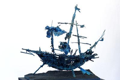 Štefan Polák, 'The ship of G. G. Marquez', ca. 2020