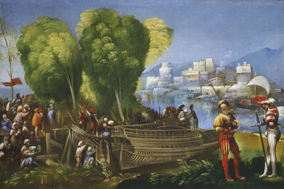 Dosso Dossi, 'Aeneas and Achates on the Libyan Coast', ca. 1520