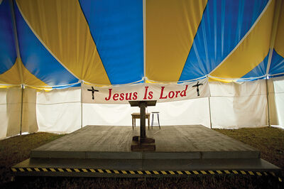 Jerry Siegel, 'Jesus Is Lord, Dallas County, AL', 2009