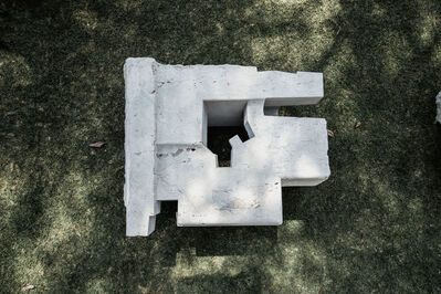 Jorge Yazpik, 'Large Sculptural Marble Bench 03', 2018