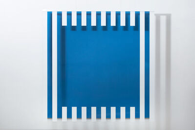 Daniel Buren, 'Colors, light, projection, shadows, transparency - Blue: situated works ', 2015