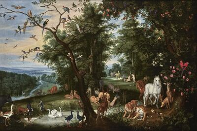 Jan Brueghel the Younger, 'Paradise', 17th century