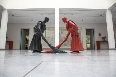 Wang Shugang 王书刚, 'Sweeping', 2004