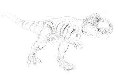 Dave White, 'T Rex VI', 2020
