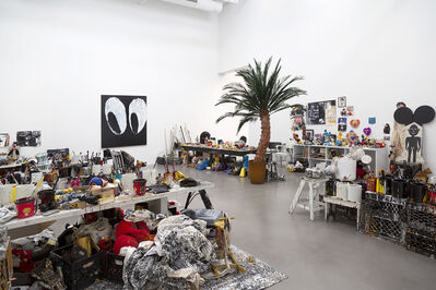 Joyce Pensato, 'Fuggetabout It (Redux)', 2012-2021