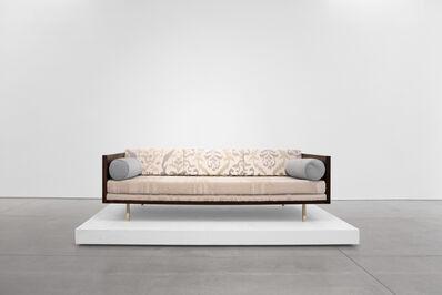 Milo Baughman, 'Rosewood Case Sofa', 1950-1959