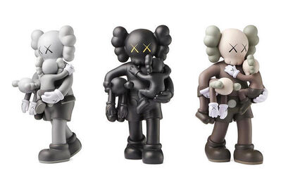 KAWS, 'Clean Slate (set of 3)', 2018