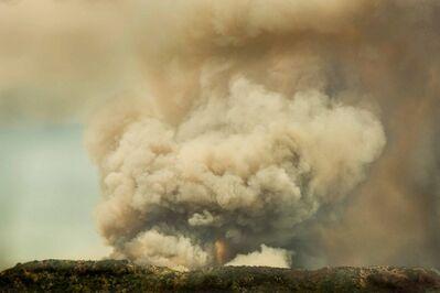 Robert Welkie, 'Fire on Hill, Monrovia, California', 2016