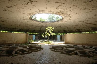 Gio Sumbadze, 'Soviet period bath building', 2015
