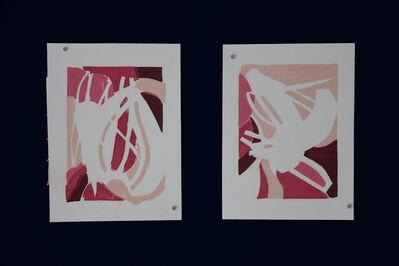 Franco Mehlhose, 'serigrafía s/t', 2017