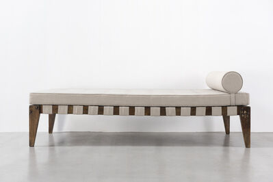 Pierre Jeanneret, 'Demountable bed', ca. 1955-56