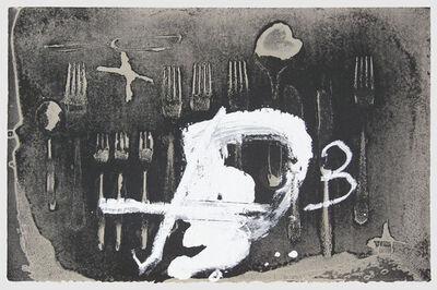 Antoni Tàpies, 'Coberts 3', 1993-1994