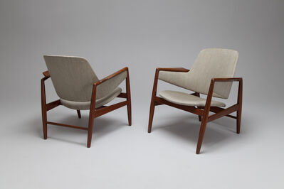 Ib Kofod-Larsen, 'Pair of Armchairs', ca. 1950