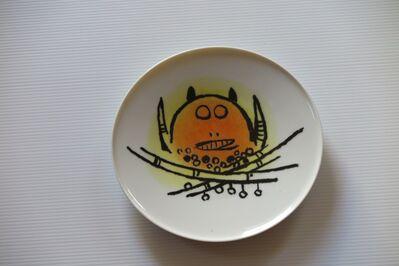 """Wifredo Lam, 'Porcelana di Albisola - 7.75"""" (19.35cm.) plate', 1970"""