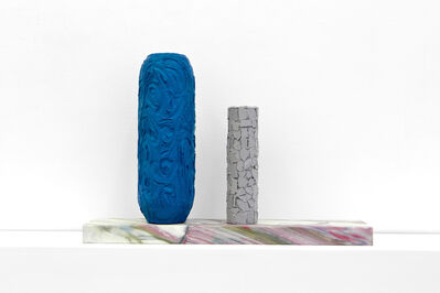 Laurent Dupont and Lucy McKenzie, 'Vitrine Stand & 2 Prague Objects II', 2015