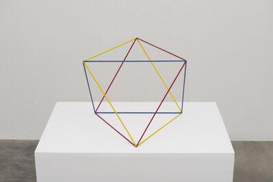 Lydia Okumura, 'Three Color Squares', 1984